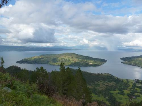 Muara Lake Toba